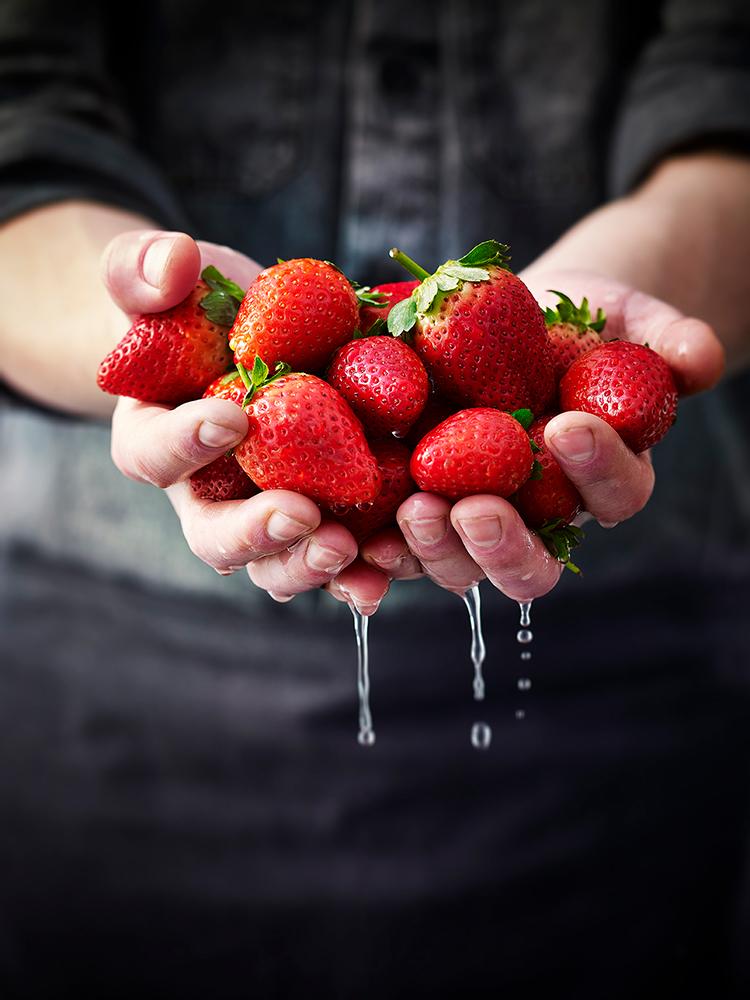 M&S Strawberries POS